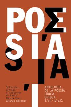 Viamistica.es Antología De La Poesía Lírica Griega (Siglos Vii-iv A. C.) Image