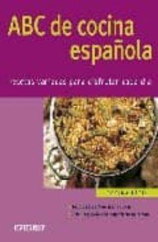 Inmaswan.es Abc De Cocina Española: Recetas Variadas Para Disfrutar Cada Dia Image