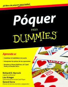 poquer para dummies-richard d. harroch-9788432920820