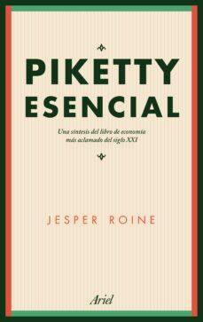 piketty esencial-jesper roine-9788434425620