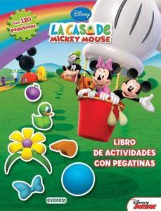 Titantitan.mx La Casa De Mickey Mouse: Libro De Actividades Con Pegatinas Image