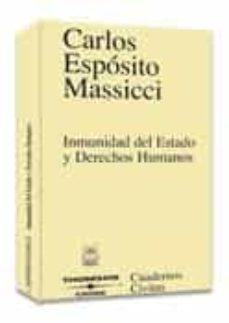 Descargar INMUNIDAD DEL ESTADO Y DERECHOS HUMANOS gratis pdf - leer online