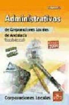 Debatecd.mx Administrativos De Corporaciones Locales De Andalucia. Temario Ge Neral. Volumen Ii Image
