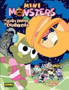 minimonsters (vol. 4): el gran partido de calabacesto-david ramirez-9788467909920