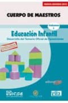 Lofficielhommes.es Cuerpo De Maestros. Educacion Infantil. Temario Vol.i. Edicion Pa Ra Canarias Image