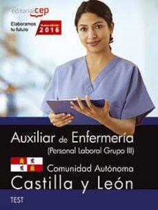 Upgrade6a.es Auxiliar De Enfermería (Personal Laboral Grupo Iii) Comunidad Autónoma De Castilla Y León. Test Image