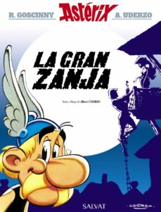 asterix 25: la gran zanja-rene goscinny-9788469602720