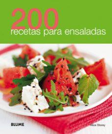 200 recetas para ensaladas-9788480769020