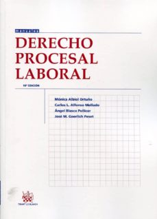 Javiercoterillo.es Derecho Procesal Laboral (10ª Ed.) Image