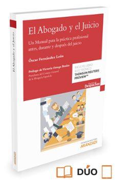 el abogado y el juicio-oscar fernandez leon-9788491350620