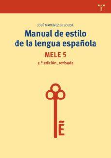 Geekmag.es Manual De Estilo De La Lengua Española (5ª Edición, Revisada) Image
