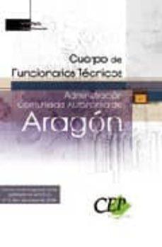Javiercoterillo.es Cuerpo De Funcionarios Tecnicos. Administracion De La Comunidad A Utonoma De Aragon. Parte General Image