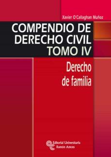 Geekmag.es Compendio De Derecho Civil. Tomo Iv. Derecho De Familia Image