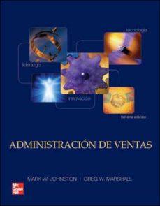 Valentifaineros20015.es Administracion De Ventas 9ª Ed. Image
