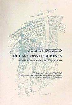 Cronouno.es Guía Del Estudio De Las Constituciones De Los Hermanos Menores Capchinos Image