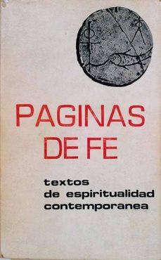 PÁGINAS DE FÉ - VVAA  