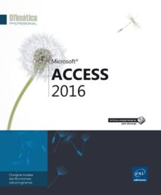 access 2016-9782409004230