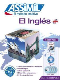 Descargar ebook para móvil gratis EL INGLES SUPER PACK BOOK 4 CD AUDIO 1. APRENDER INGLES NUNCA HA SIDO TAN FACIL