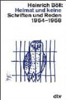 heimat und keine: schriften und reden, 1964-1968-heinrich boll-9783423106030