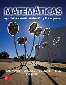 Cover Art Matemáticas aplicadas a la administración y los negocios