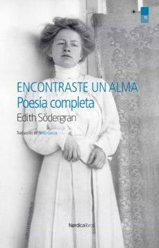 encontraste un alma (ebook)-edith södergran-9788416830930