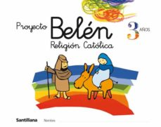 proyecto belen, religion catolica 3 años (infantil)-9788429484830