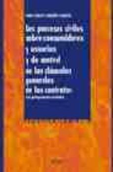 Chapultepecuno.mx Los Procesos Civiles Sobre Consumidores Y Usuarios Y De Control D E Las Clausulas Generales De Los Contratos (Con Jurisprudencia Asociada) Image