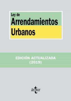 Descargar LEY DE ARRENDAMIENTOS URBANOS gratis pdf - leer online