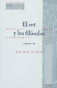 el ser y los filosofos (5ª ed.)-etienne gilson-9788431322830