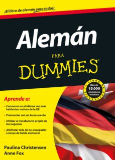 Aleman Para Dummies Paulina Christensen Comprar Libro 9788432921230