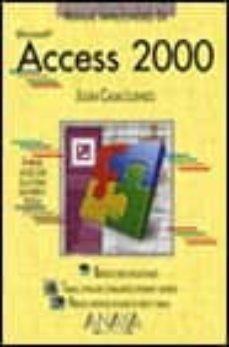 access 2000 (manuales imprescindibles)-julian casas luengo-9788441509030