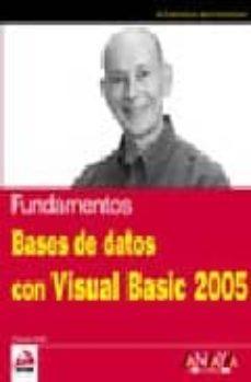 Curiouscongress.es Bases De Datos Con Visual Basic 2005 (Anaya Multimedia / Wrox) Image