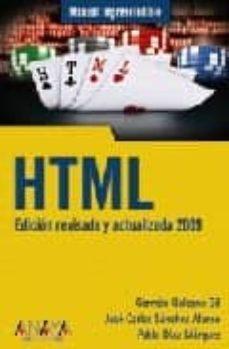 Descargar HTML gratis pdf - leer online