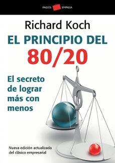 libro el principio 80 20 richard koch pdf gratis
