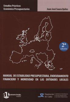 Upgrade6a.es Manual De Estabilidad Presupuestaria, Endeudamiento Financiero Y Morosidad En Las Entidades Locales (2ª Ed.) Image