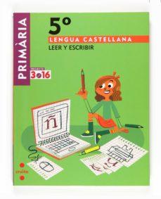 Emprende2020.es Lengua Castellana Leer Y Escribir Projecte 3.16 5º Primaria Image