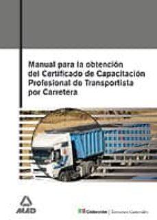 Relaismarechiaro.it Manual Para La Obtencion Del Titulo De Certificacion Profesional De Transportista Por Carretera Image
