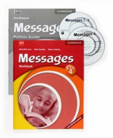 Inmaswan.es Messages Nivel 4: Libro De Actividades (4º Eso) Image