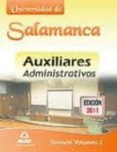Chapultepecuno.mx Auxiliares Administrativos De La Universidad De Salamanca. Temari O Image