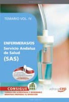 Upgrade6a.es Enfermeras/os. Servicio Andaluz De Salud (Sas). Temario Vol. Iv. Image