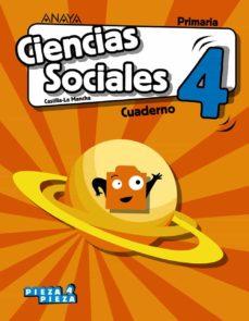 Inmaswan.es Ciencias Sociales 4º Educacion Primaria Cuaderno. Cast Ed 2019 Castilla-la Mancha Image