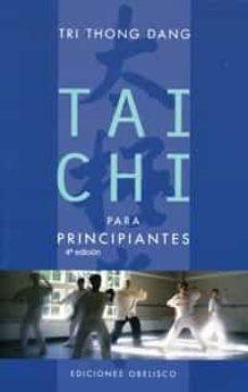 tai chi para principiantes-tri thong dang-9788477207030