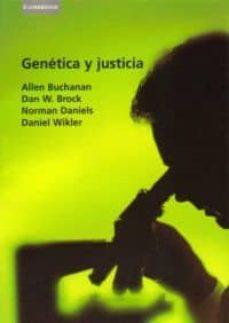 Libro de descarga gratuita en formato pdf. GENETICA Y JUSTICIA