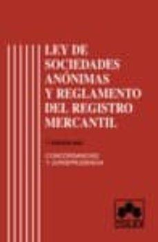 Geekmag.es Ley De Sociedades Anonimas Y Reglamento Del Registro Mercantil Image