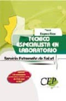 Emprende2020.es Test Especifico Oposiciones Tecnico Especialista En Laboratorio: Servicio Extremeño Salud Image