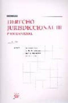 Chapultepecuno.mx Manuales Derecho Jurisdiccional Iii: Proceso Penal (14ª Ed.) Image