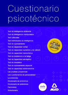 cuestionario psicotecnico-alfonso blanco picabia-9788486526030