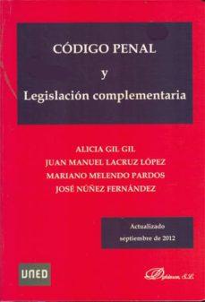 código penal y legislación complementaria (ebook)-alicia gil gil-juan manuel lacruz lópez-mariano melendo pardos-9788490315330