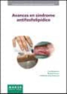 Descargas de libros en francés gratis AVANCES EN SINDROME ANRIFOSFOLIPIDICO en español 9788492442430 de RICARD CERVERA