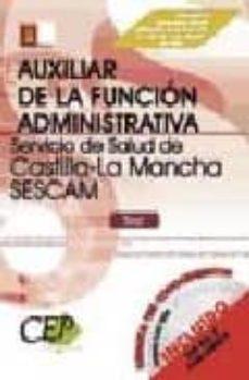 Alienazioneparentale.it Test Oposiciones Auxiliar De La Funcion Administrativa Servicio D E Salud De Castilla-la Mancha (Sescam) Image